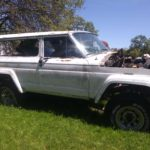 Chad 1978 Jeep White