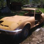 chad 1970 Opel gt, Has headlight and doors (not in pic)